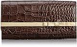 [ルエゴ] LUEGO クロコ型押し リボン長財布