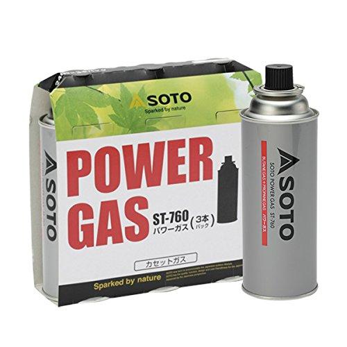 ソト(SOTO) パワーガス 3本パック ST-7601