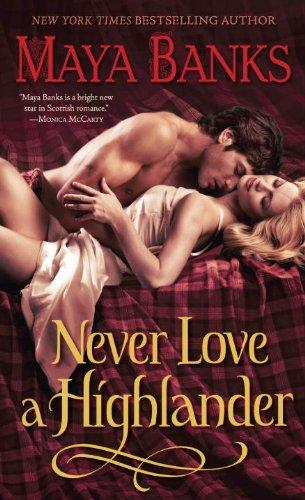 Image of Never Love a Highlander (The Highlanders)