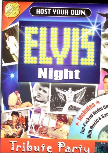 Host your own elvis night tribute party kit