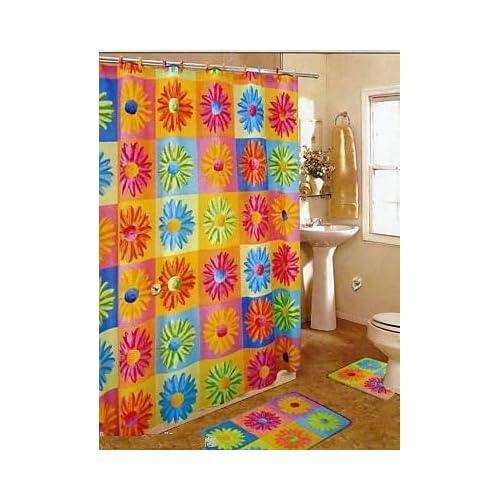 ... RINGS, AREA RUG & CONTOUR RUG SET - Bath Linen Shower Curtain Sets