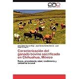 Caracterizaci N del Ganado Bovino Sacrificado En Chihuahua, M Xico: Razas, procedencia, edad, rendimiento y calidad...
