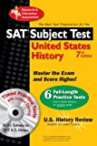 SAT Subject Test: United States History w/CD (SAT PSAT ACT (College Admission) Prep)