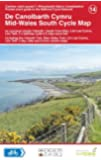 Mid-Wales South Cycle Map (National Cycle Network Route Maps)