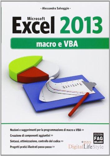 Microsoft Excel 2013 Macro e VBA PDF