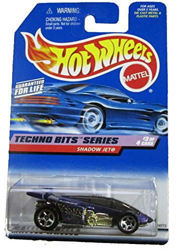 Techno Bits #3 Shadow Jet Metal Flake Blue #691 Mint 1:64 Scale