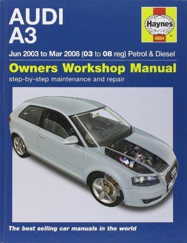 Audi A3 Petrol And Diesel Service And Repair Manual: 03 To 08 (Haynes Service And Repair Manuals) By Gill, Peter T. (2010) Hardcover