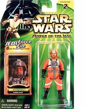 Star Wars Power of the Jedi Jek Porkins X-Wing Pilot Action Figure by Star Wars (Porkins Action Figure compare prices)
