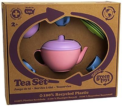 Green Toys TEA01R Tea Set