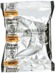 Douwe Egbert Coffees, World's Best Blend Decaf Ground Coffee, 1.5 -Ounce Packages (Pack of 42)