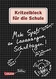 Kritzelblock für die Schule: Mehr Spaß an laaaaangen Schultagen