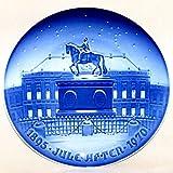 BING & GRONDAHL 1895-1970 Porcelin Jubilee Plate - The Royal Palace