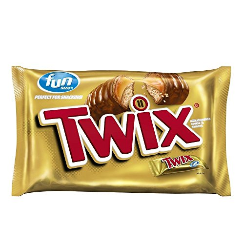 Twix Fun Size Caramel and Chocolate Cookie Bars, 20.62 Ounce (Big Twix Bar compare prices)