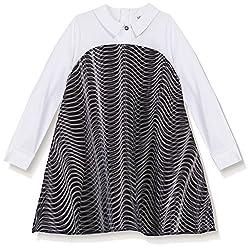 Kenzo Kid's Wave Dress, Black, 12