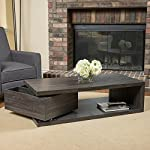 Christopher Knight Home Jack Rectangular Rotating Wood Coffee Table