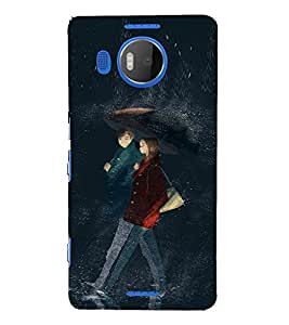 EPICCASE Modern Art Mobile Back Case Cover For Microsoft Lumia 950 XL (Designer Case)