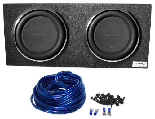 package 2 rockford fosgate p3sd212 12 quot punch p3 dual 2 ohm voice coil shallow subwoofers with