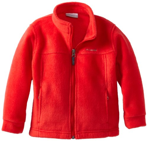Columbia Little Boys' Steens Mt Ii Fleece Jacket, Bright Red, 3T front-1036415