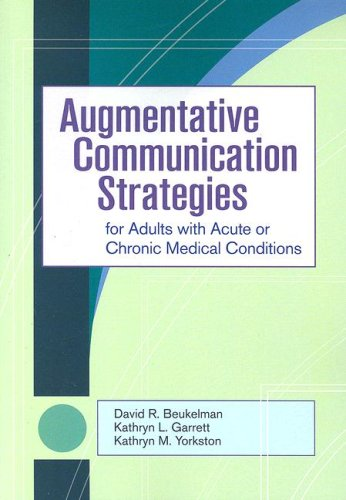 acute adult augmentative chronic communication condition medical strategy