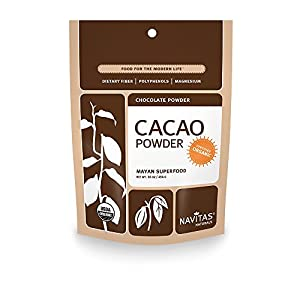 Navitas Naturals Organic Cacao Powder, 16-oz. Pouches (Packof 2)