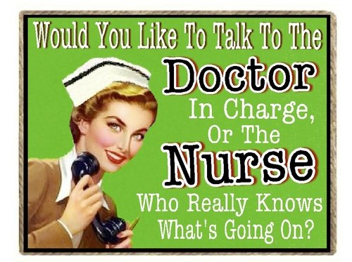 Nurse Gifts Funny Retro Refrigerator Magnet Nurse That Knows What's Going On (Fridge Magnets Nurse compare prices)