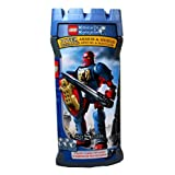 Lego Year 2005 Knights Kingdom Series 7 1/2 Inch Tall Figure Set #8794 Knight Of The Bear Sir Santis With Orkosan...