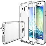 Galaxy A3 Case - Ringke FUSION Case [Protector HD / Protección de la caida] [CRYSTAL VIEW] Absorción de choque Premium para Samsung Galaxy A3 - Eco / paquete de bricolaje