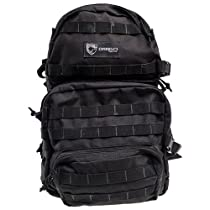 Drago Gear Assault Backpack, Black