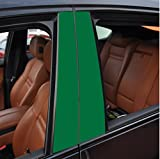 6x Hochglanz grasgr�n T�rzierleisten Verkleidung B S�ule T�rs�ule passend f�r Ihr Fahrzeug , geben Sie Ihrem Fahrzeug kosteng�nstig ein sportlichen Touch