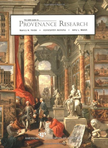AAM Guide to Provenance Research093123199X : image