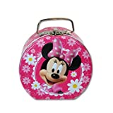 Disney Minnie Mouse Tin Purse in Pink w/Daisies
