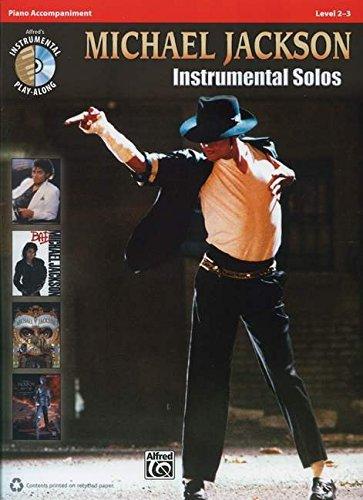 Michael Jackson Instrumental Solos: Piano Acc., Book & CD