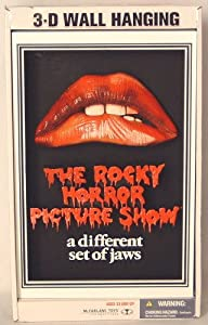 THE ROCKY HORROR PICTURE SHOW 3D Movie Poster - McFarlane's Pop Culture Masterworks 3D WALL ART Collection