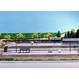 Nゲージ ストラクチャー(鉄道関連施設) ローカルホームセット (イージーキット) #23-130