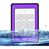 Redpepper Kindle Paperwhite Case Cover Waterproof Dirtproof Snowproof Shockproof Box Hard Tablet Shell for Amazon Kindle Paperwhite eReader (Purple)