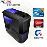 GAMING PC | PC24 GAMER PC | INTEL i7-6700K @4x4,20GHz Skylake | AMD Radeon...