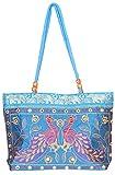 Craftshraft Women's Shoulder Bag (craft-79, Blue)