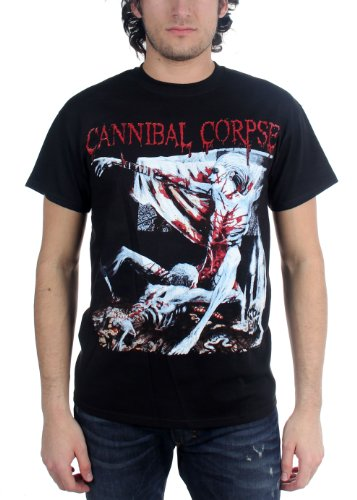 Cannibal Corpse - Tomb Of The Mutilated Adulto T-Shirt, Size: Medium, Color: B...