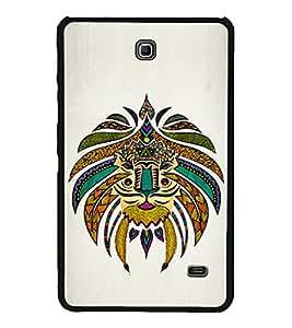 Tribal Art 2D Hard Polycarbonate Designer Back Case Cover for Samsung Galaxy Tab 4 :: Samsung Galaxy Tab 4 T231