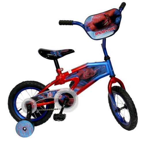 Spiderman Kids Bicycle, Multi, 12-Inch