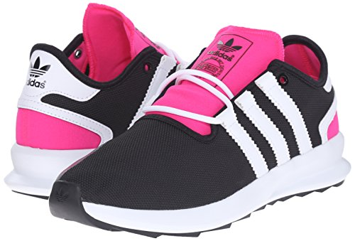 Adidas Originals Women's SL Rise W Fashion Sneaker, Black/White/Shock Pink, 6 M US
