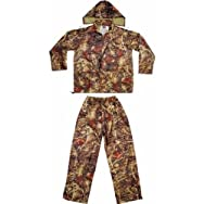 Custom Leathercraft R180L Climate Gear Camo Rain Suit-LRG 2PC CAMO RAIN SUIT
