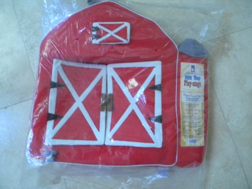 Barn Door Play-stage Finger Puppet Theater By Manhatten Toy