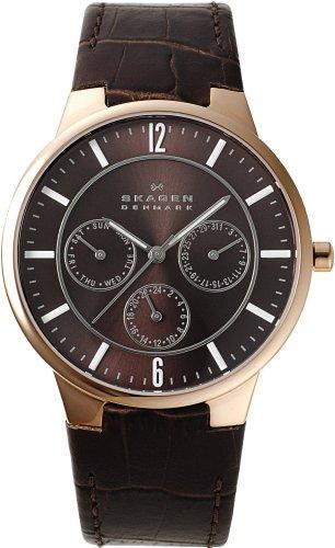 SKAGEN (スカーゲン) 腕時計 basic leather mens 331XLRLDメンズ [正規輸入品] ケース幅: 37.5mm メンズ [正規輸入品]