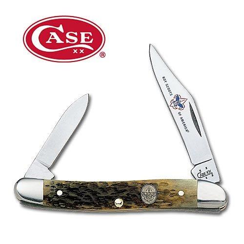 Case - Pen, Od Green Jigged Bone/Bsa, 2 Blades