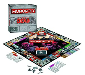 The Walking Dead Monopoly Survival Edition Game from USAopoly
