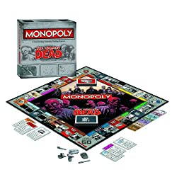 [Best price] Grown-Up Toys - The Walking Dead Monopoly Survival Edition Game - toys-games