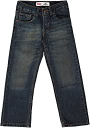 Levi\'s Little Boys\' 505 Regular Fit Jean, Roadie, 5