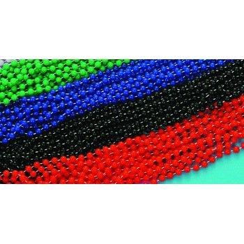 Mardi Gras - Beads - Festive NonMetallic Black Bulk Accessory