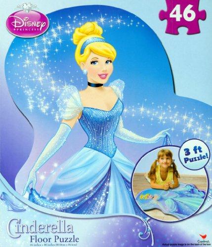 Cinderella 46 Piece Floor Puzzle - 1